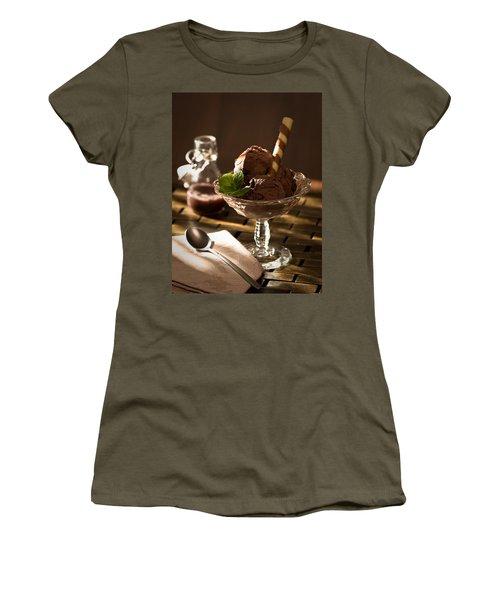 Mint Choc Chip Ice Cream Women's T-Shirt