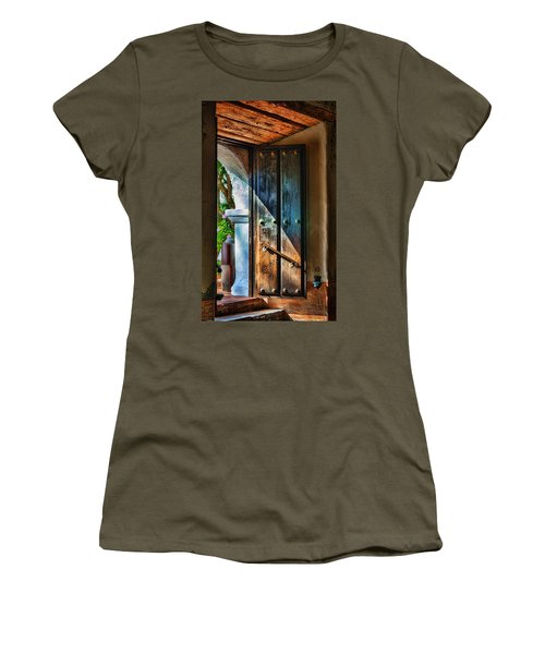 Mission Door Women's T-Shirt (Junior Cut)