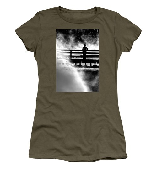 Misty Cowgirl Women's T-Shirt