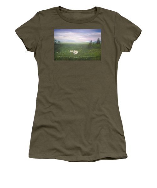 Misty Meadow Isaiah  Women's T-Shirt (Athletic Fit)
