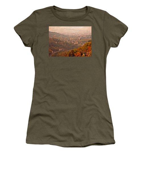 Misty Morn O'er Florence Women's T-Shirt