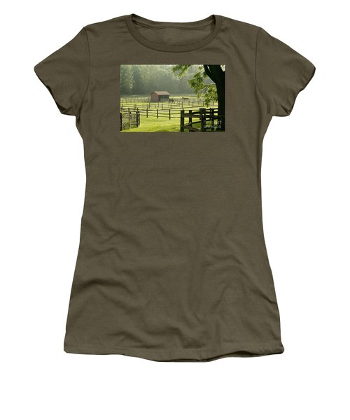 Misty Morning Maze Women's T-Shirt