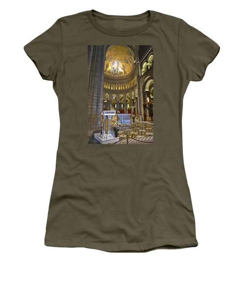 Women's T-Shirt (Junior Cut) featuring the photograph Monaco Cathedral by Allen Sheffield