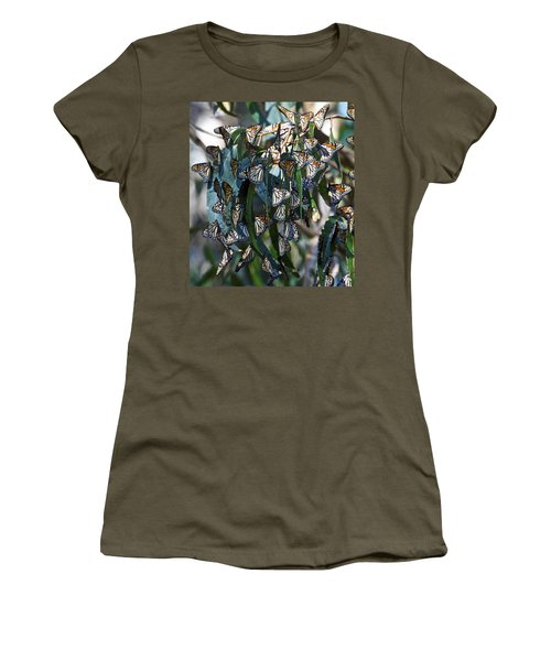 Monarch Butterflies Natural Bridges Women's T-Shirt