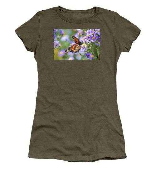 Monarch Butterfly 3 Women's T-Shirt (Athletic Fit)