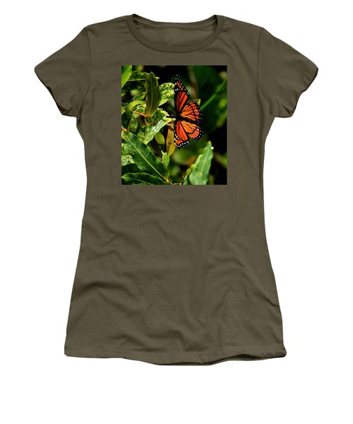 Viceroy Butterfly II Women's T-Shirt (Athletic Fit)