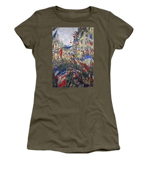 Monet: Montorgeuil, 1878 Women's T-Shirt