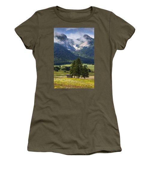 Monte Bondone Women's T-Shirt (Athletic Fit)