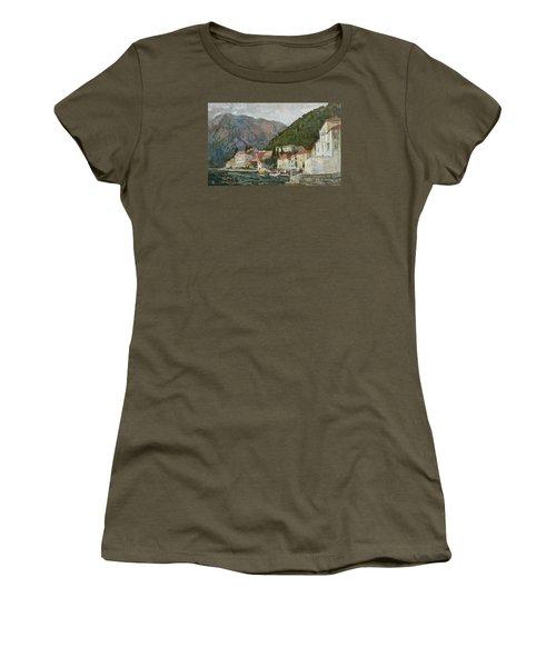 Montenegrin Venice Women's T-Shirt (Athletic Fit)