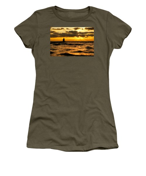 Moody Morning Women's T-Shirt (Junior Cut) by Bill Pevlor
