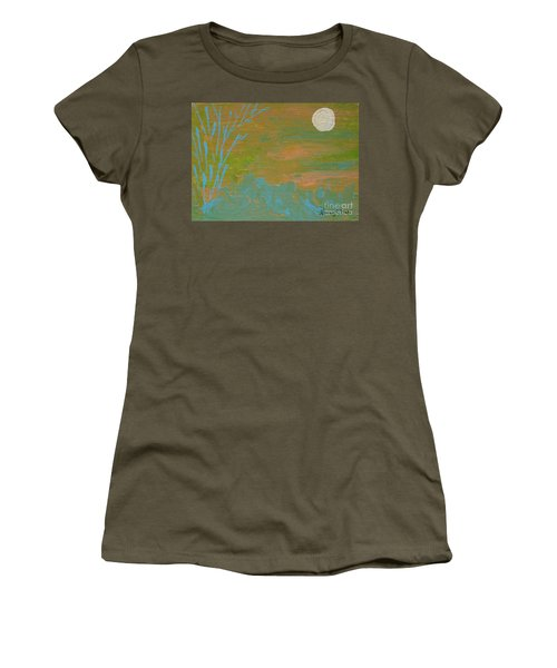 Moonlight In The Wild Women's T-Shirt (Athletic Fit)