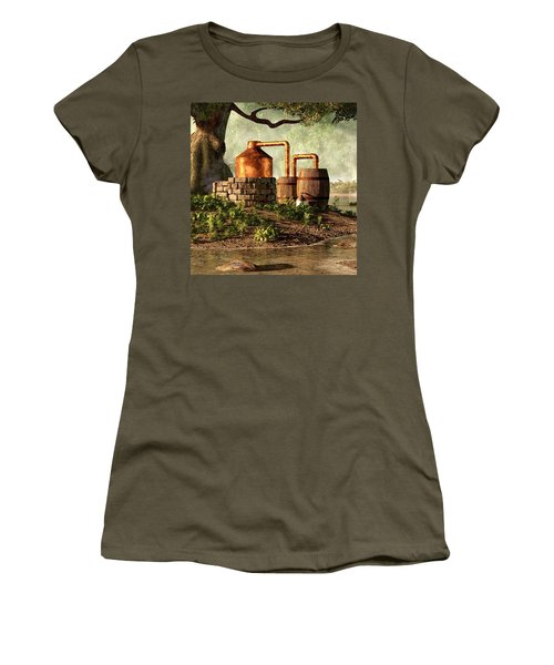 Moonshine Still 1 Women's T-Shirt