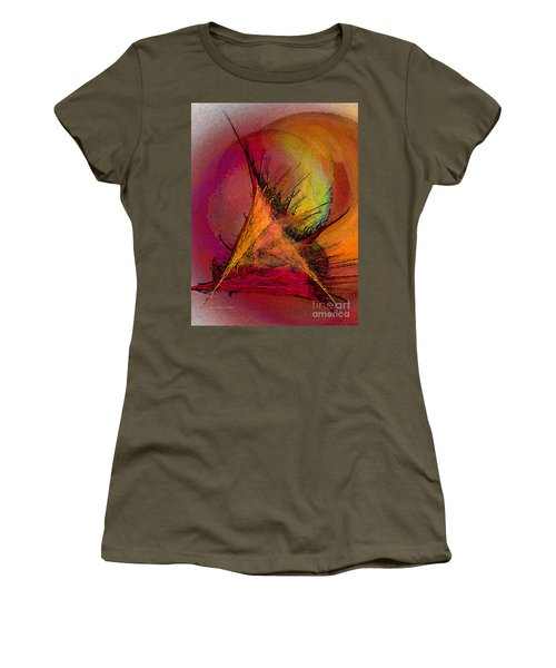 Moonstruck-abstract Art Women's T-Shirt