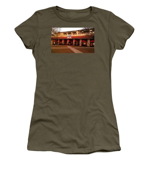 Morning Call In The Oaks - New Orleans City Park Women's T-Shirt (Athletic Fit)