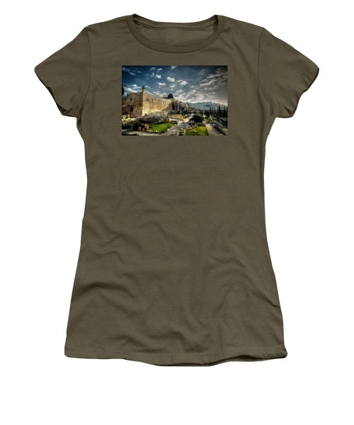 Morning In Jerusalem Hdr Women's T-Shirt