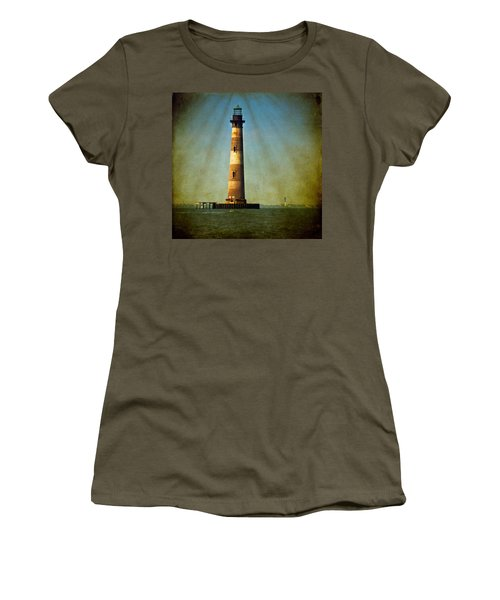 Morris Island Light Color Vintage Women's T-Shirt