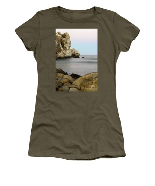 Morro Bay Morning 2 Women's T-Shirt (Athletic Fit)