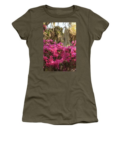 Moss Over Azaleas Women's T-Shirt