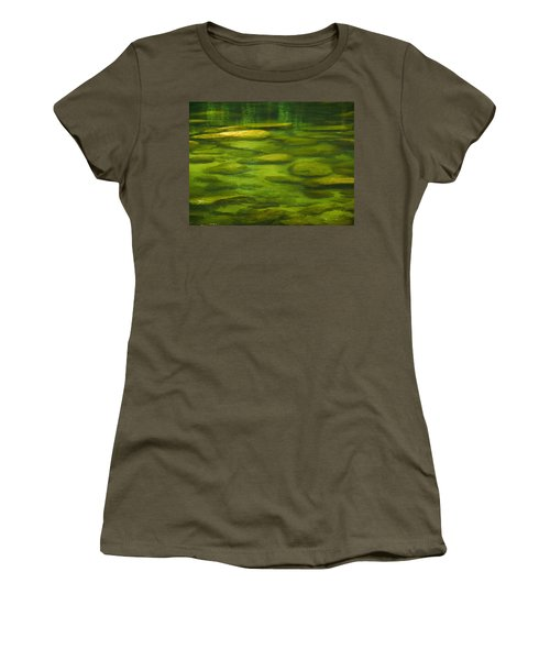 Women's T-Shirt (Junior Cut) featuring the photograph Mossman by Evelyn Tambour