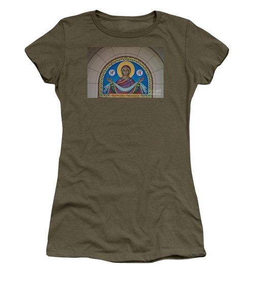 Mother Of God Mosaic Women's T-Shirt