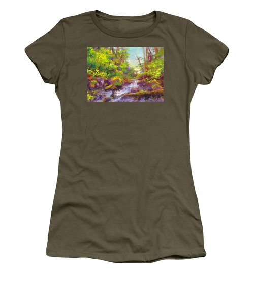 Mother's Day Oasis - Woodland River Women's T-Shirt
