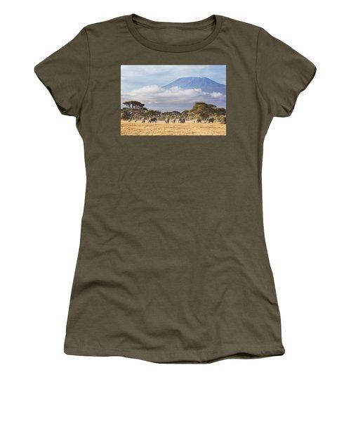 Mount Kilimanjaro Amboseli  Women's T-Shirt
