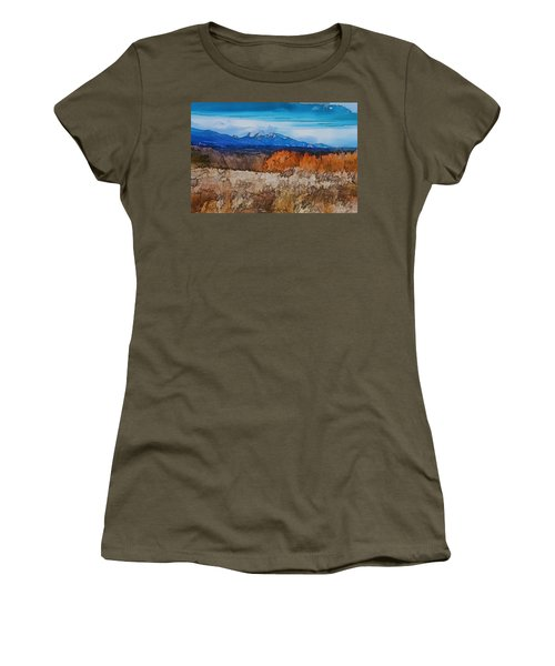 Mount Princeton Women's T-Shirt (Athletic Fit)