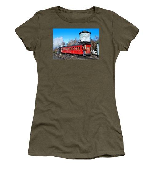 Mount Washington Cog Railway Car 6 Women's T-Shirt