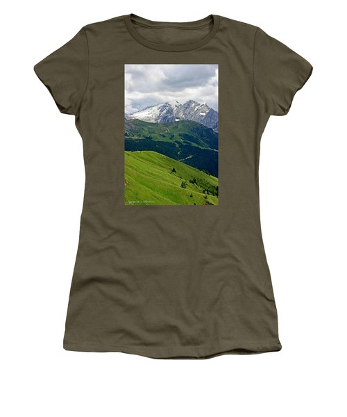 Mountains Women's T-Shirt (Junior Cut) by Leena Pekkalainen