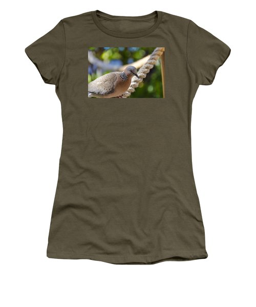 Mourning Dove Women's T-Shirt (Athletic Fit)