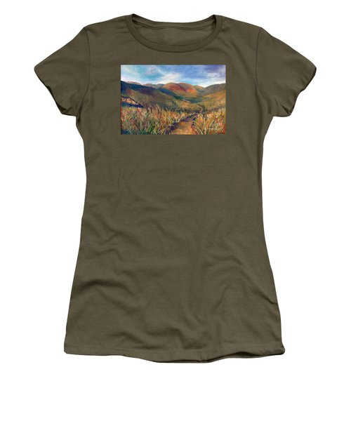 Mt. Diablo Hills Women's T-Shirt (Athletic Fit)