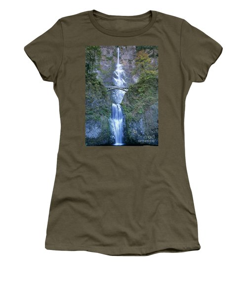 Multnomah Falls Columbia River Gorge Women's T-Shirt