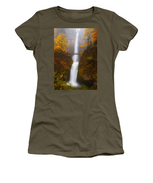 Multnomah Morning Women's T-Shirt (Athletic Fit)