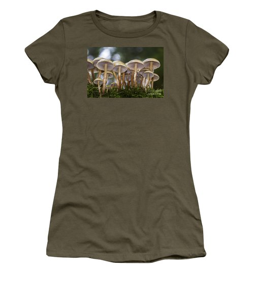 Mushroom Forest Women's T-Shirt (Athletic Fit)