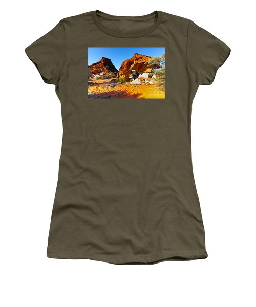 Mushroom Rock Rainbow Valley Women's T-Shirt