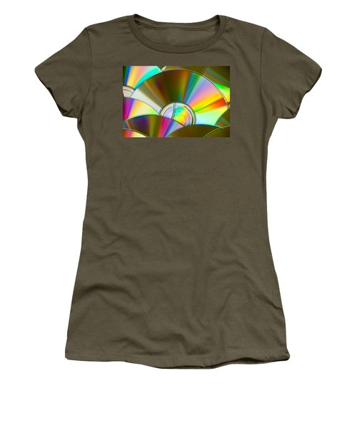 Music For The Eyes Women's T-Shirt (Athletic Fit)