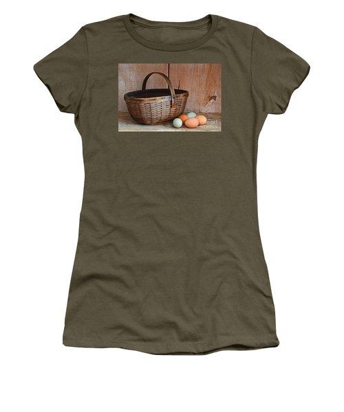 My Grandma's Egg Basket Women's T-Shirt