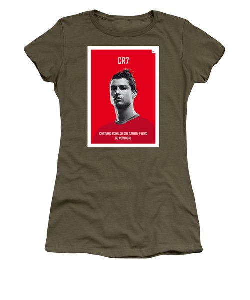 My Ronaldo Soccer Legend Poster Women's T-Shirt