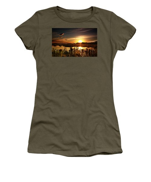 My Sandy Floors  Women's T-Shirt (Athletic Fit)