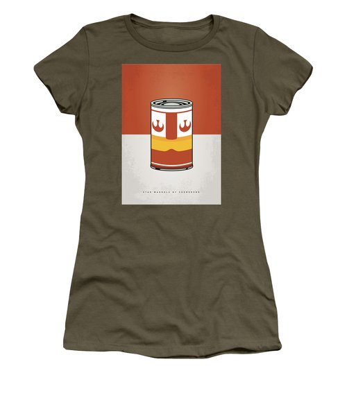 My Star Warhols Luke Skywalker Minimal Can Poster Women's T-Shirt