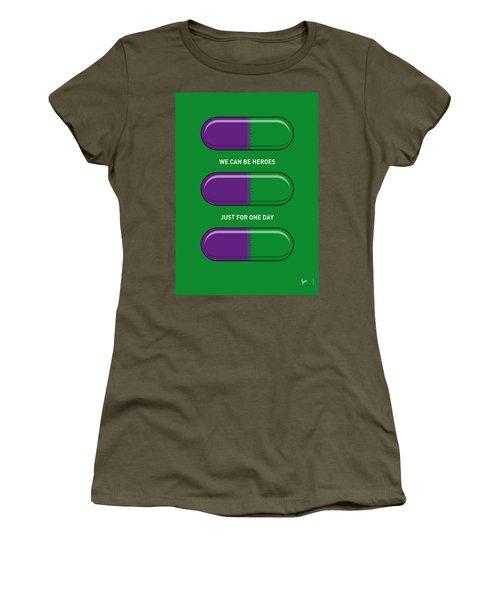 My Superhero Pills - The Hulk Women's T-Shirt