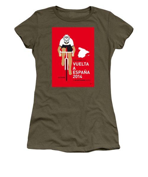 My Vuelta A Espana Minimal Poster 2014 Women's T-Shirt