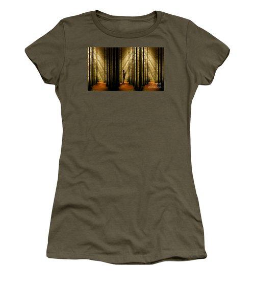 Mysterious Wood Women's T-Shirt