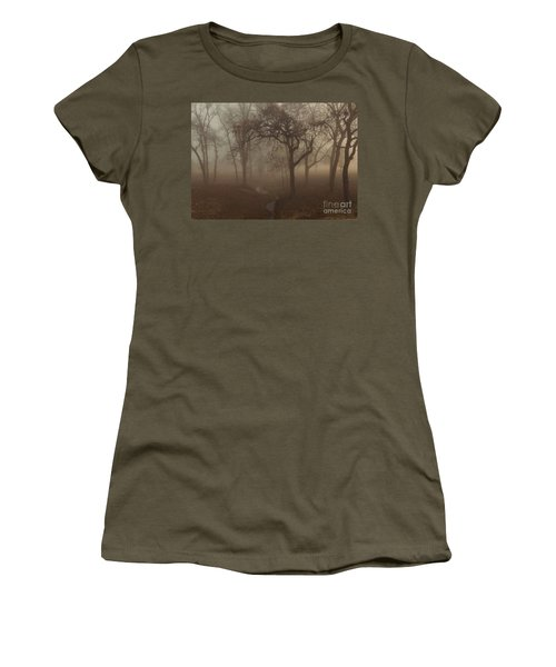 Mystic Forest 004 Women's T-Shirt (Athletic Fit)