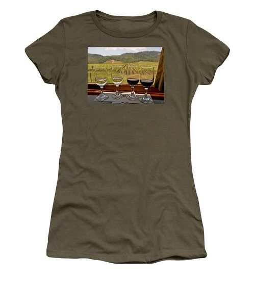 Napa Valley Wine Train Delights Women's T-Shirt