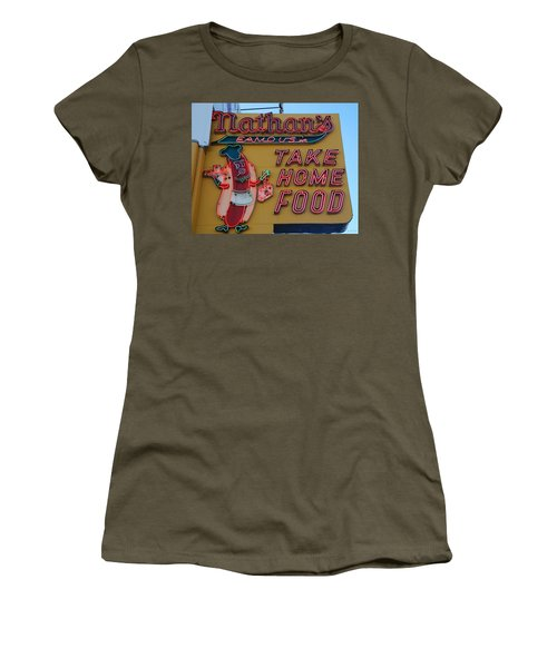 Nathan's Famous Women's T-Shirt