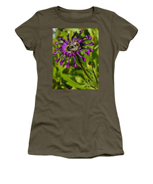 Nature At Work Women's T-Shirt (Athletic Fit)