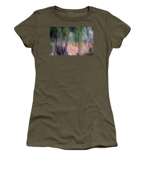 Nature's Mirror Women's T-Shirt (Athletic Fit)