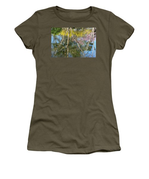 Nature's Reflections Women's T-Shirt (Athletic Fit)