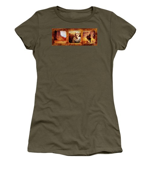 Navajo Triptych  Women's T-Shirt